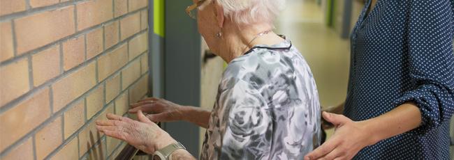 une chute chez les personnes âgées