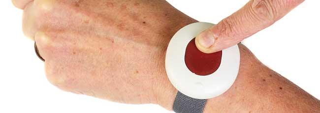 Le bracelet alarme